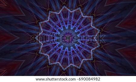 Kaleidoscope Patterns EZ Canvas Unique Kaleidoscope Patterns