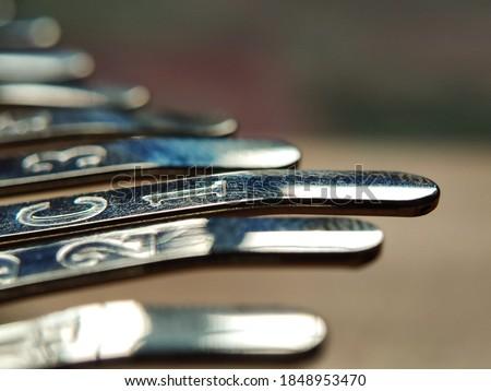Photo of  Kalimba thumb piano close-up, alat musik kalimba