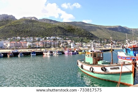Kalk Bay from the Harbour #733817575