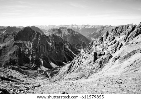 kalkalpen mountain range of...