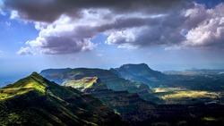 Kalsubai Peak is the Highest Peak of the Sahyadris (1646 M) in the Akole Taluka of Ahmednagar District of Maharashtra.