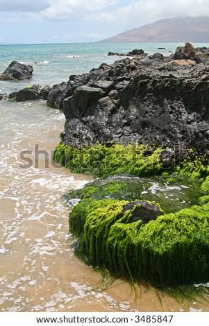 Kamaole I Beach, Maui - stock photo