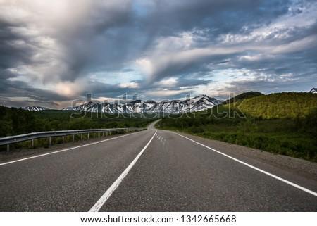 Kamchatkan endless Road  #1342665668