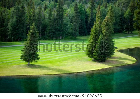 Kananaskis Golf Course in the Canadian Rockies