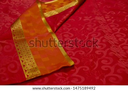 Kancheepuram Silk Saree Design and pattern #1475189492