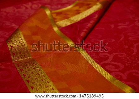 Kancheepuram Silk Saree Design and pattern #1475189495