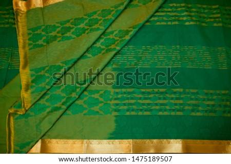 Kancheepuram Silk Saree Design and pattern #1475189507
