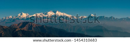 Kanchenjunga range sleeping Buddha on the Summer Trek 2018 #1454310683