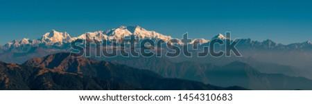 Kanchenjunga range sleeping Buddha on the Summer Trek 2018 #1454310683