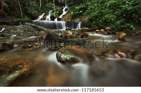 Waterfall Malaysia Selangor Kancing Waterfall in Selangor