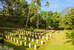 Kandy second world war cemetery is a British military cemetery in Kandy, Sri Lanka. Cemetery is for soldiers of the British Empire who were killed during World War II.