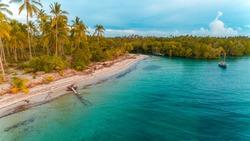 kanga beach in Mafia island