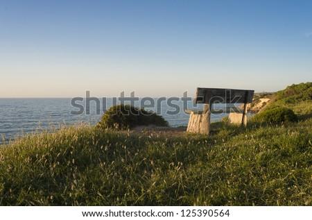 Kangaroo Island Coast Park Bench