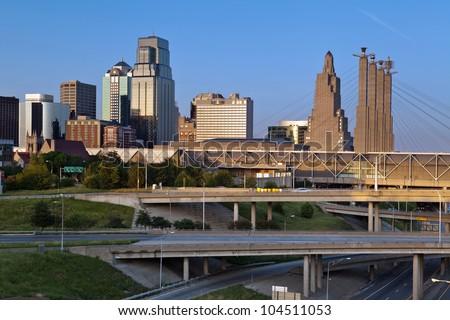 Kansas City. Image of the Kansas City skyline.