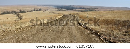 Kansas Country Road