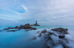 Kanyakumari is a coastal town in the state of Tamil Nadu on India's southern tip.  the town was known as Cape Comorin during British rule and is popular for watching sunrise and sunset.