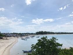 Kao-seng view of songkhla thailand