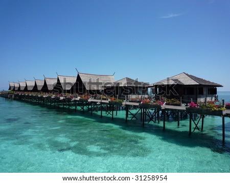 Kapalai Island Resort, Sabah Malaysia