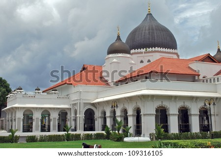 Kapitain Kling Mosque, Penang, Malaysia
