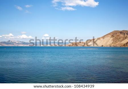 Kara Dag mountain in Crimea in Ukraine #108434939