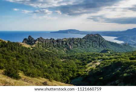 Kara Dag mountains