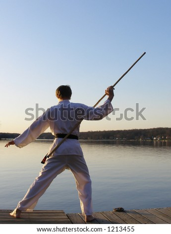 Karate at Dawn