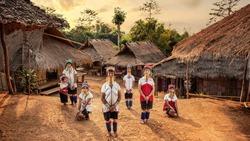 Karen Long Neck Villages, Chiang Rai Province, North Thailand.