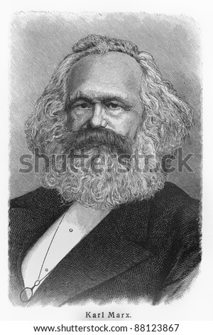 Shutterstock Karl Heinrich Marx -  Picture from Meyers Lexicon books written in German language. Collection of 21 volumes published  between 1905 and 1909.