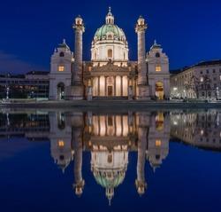 Karlskirche Vienna Austria
