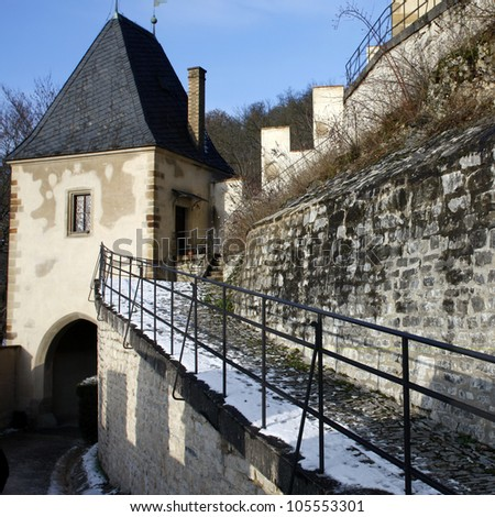 Karlstejn Castle, Czech Republic - stock photo