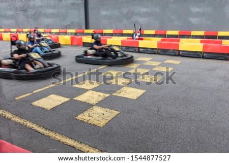 Kart speed rive indor race opposition race #1544877527