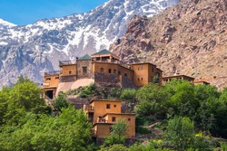 Kasbah du Toubkal, Imlil in the Atlas Mountains (Morocco)