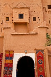 Kasbah of Taourirt in Ouarzazate town, High Atlas or the Grand Atlas, Morocco, Northern Africa