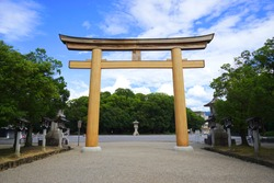 Kashihara Jingu Shrine, Kashihara City, Nara Pref., Japan