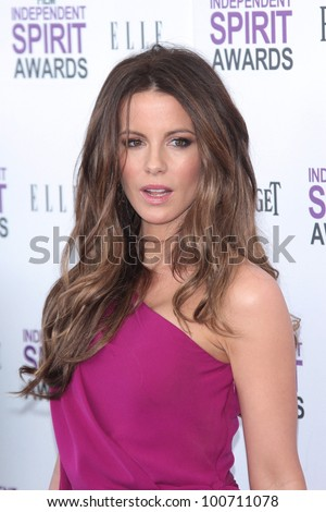 Kate Beckinsale at the 2012 Film Independent Spirit Awards, Santa Monica, CA 02-25-12