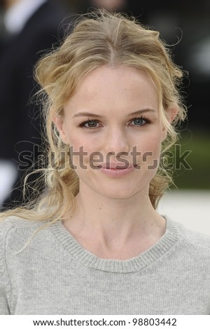 Kate Bosworth arriving for the Burberry Prorsum fashion show as part of London Fashion Week 2012 A/W in Kensington Gardens, London. 20/02/2012 Picture by: Steve Vas / Featureflash