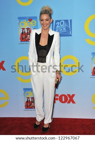 """Kate Hudson at the season four premiere of """"Glee"""" at Paramount Studios, Hollywood. September 12, 2012  Los Angeles, CA Picture: Paul Smith - stock photo"""