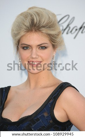 Kate Upton arriving for AmfAR's Cinema Against Aids gala 2012 during the 65th annual Cannes Film Festival Cannes, France. 24/05/2012 Picture by: Henry Harris / Featureflash