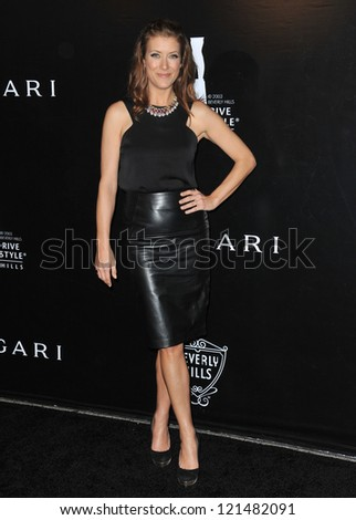 Kate Walsh at the 2012 Rodeo Drive Walk of Style Gala honoring Italian jeweler Bulgari. December 5, 2012  Los Angeles, CA Picture: Paul Smith