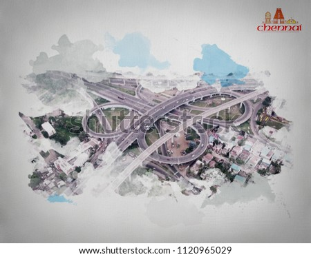 KATHIPARA BRIDGE CHENNAI