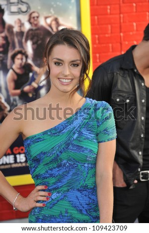 "Kathryn McCormick at the world premiere of ""Rock of Ages"" at Grauman's Chinese Theatre, Hollywood. June 9, 2012  Los Angeles, CA Picture: Paul Smith / Featureflash"