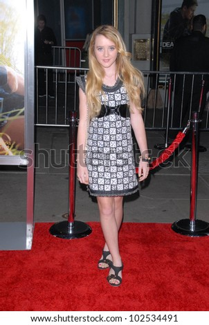 """Kathryn Newton at the """"Dear John"""" World Premiere, Chinese Theater, Hollywood, CA. 02-01-10 - stock photo"""