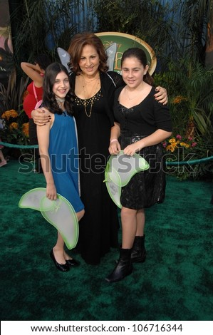 Kathy Najimy and daughter Samia  at the Premiere Screening of Disney's 'Tinker Bell' DVD. El Capitan Theatre, Hollywood, CA. 10-19-08