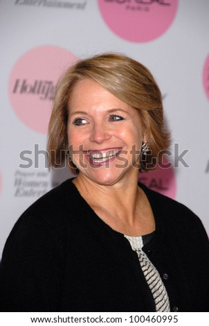 Katie Couric at The Hollywood Reporter's Power 100: Women In Entertainment Breakfast, Beverly Hills Hotel, Beverly Hills, CA. 12-07-10