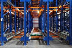 kattlove racks in the modern warehouse
