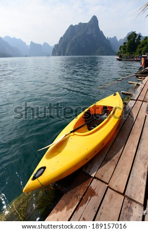 Kayak is one of the famous activity for water sport.