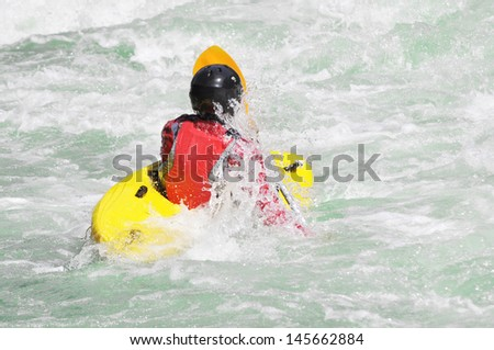 Kayaking as extreme and fun water sport