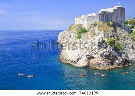 Kayaking in Croatia, Dubrovnik