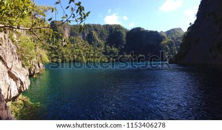 Kayangan Lake on Coron Island, Busuanga Island, Palawan, Philippines #1153406278