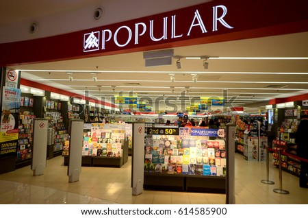 Kedah Malaysia March 23 2017 Popular Book Store Is One Of The